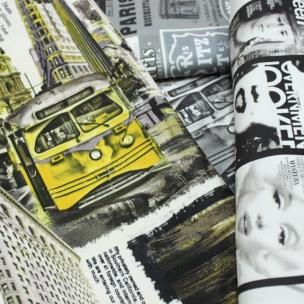 Микрофибра ткань Print